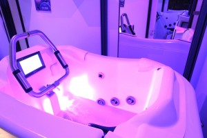 aquabike cabine individuelle