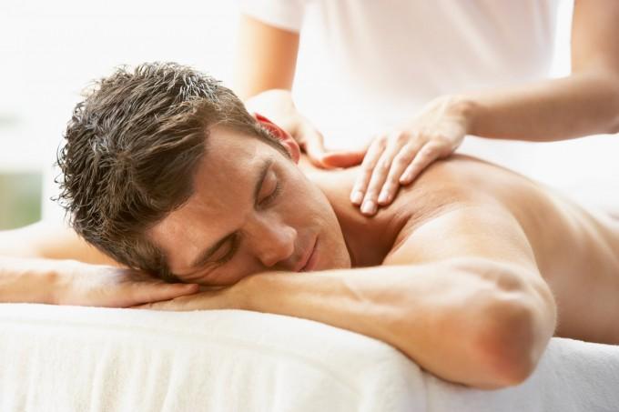 Massage suédois homme
