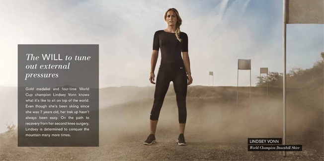 Campagne Under Armour