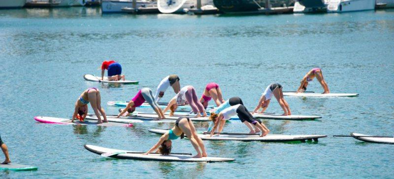 SUP Yoga 3