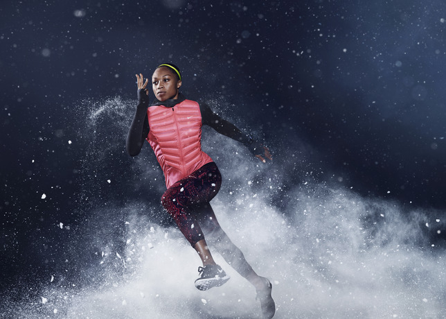 Nike: tenue running hiver